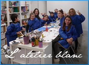 L'Atelier Blanc Diane Rousseau cours arts plastiques