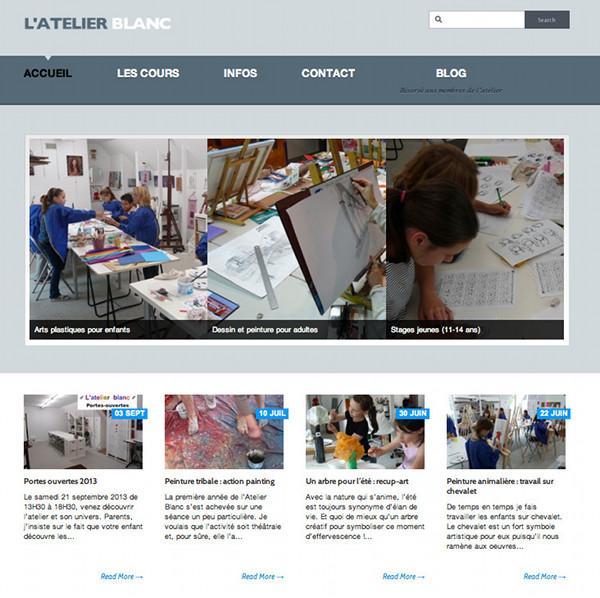 Atelier Blanc, cours d'arts plastiques et de dessin en Seine-et-Marne