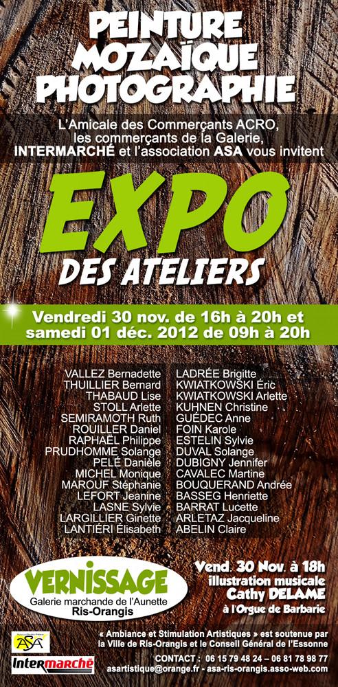 ASA Ris Orangis exposition 2012