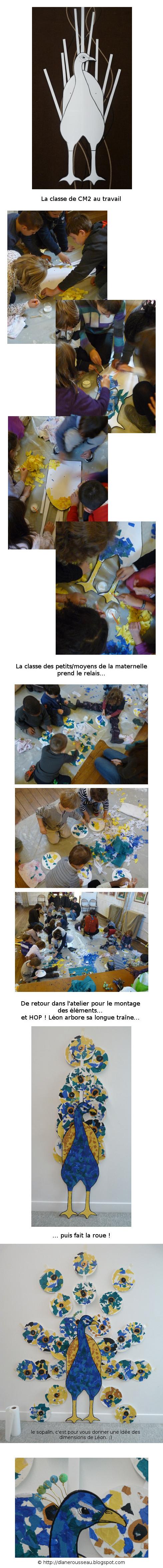 Diane Rousseau, arts plastiques enfants