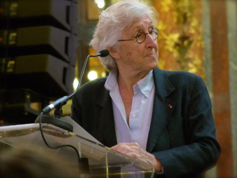 Francine Leca, Cérémonie Arts-Sciences-Lettres 2014
