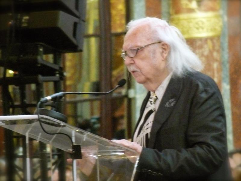 Alain Rey, Cérémonie Arts-Sciences-Lettres 2014
