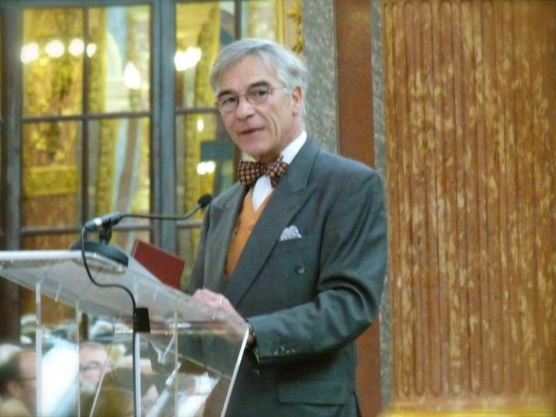 Olivier Gaube du Gers, Cérémonie Arts-Sciences-Lettres 2014