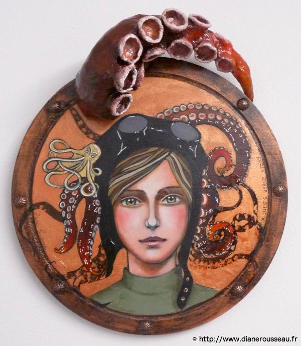 """""""La fille du capitaine"""", Diane Rousseau"""