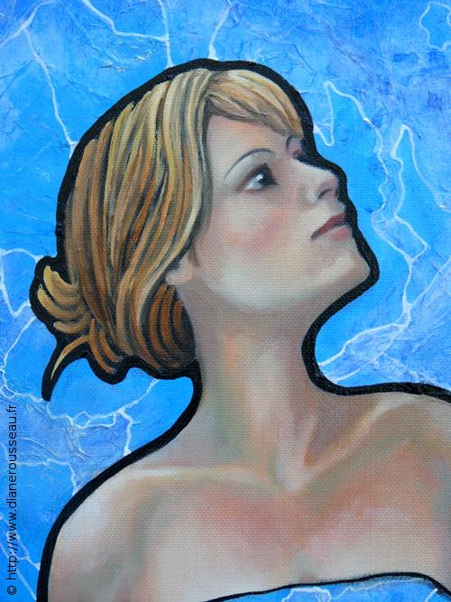 La robe du jour (détail), Diane Rousseau