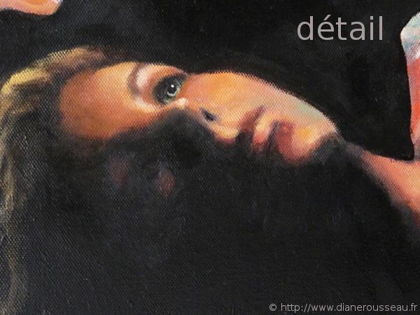 Le feu intérieur, Diane Rousseau - détail