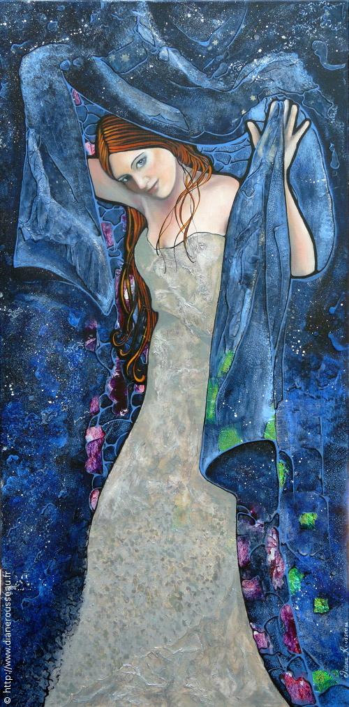 Le manteau de la nuit, Diane Rousseau