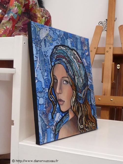 Le Petit Turban Bleu en situation, Diane Rousseau