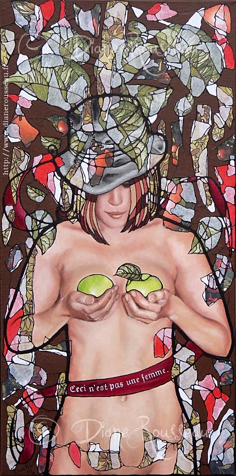 Le pommier - Diane Rousseau