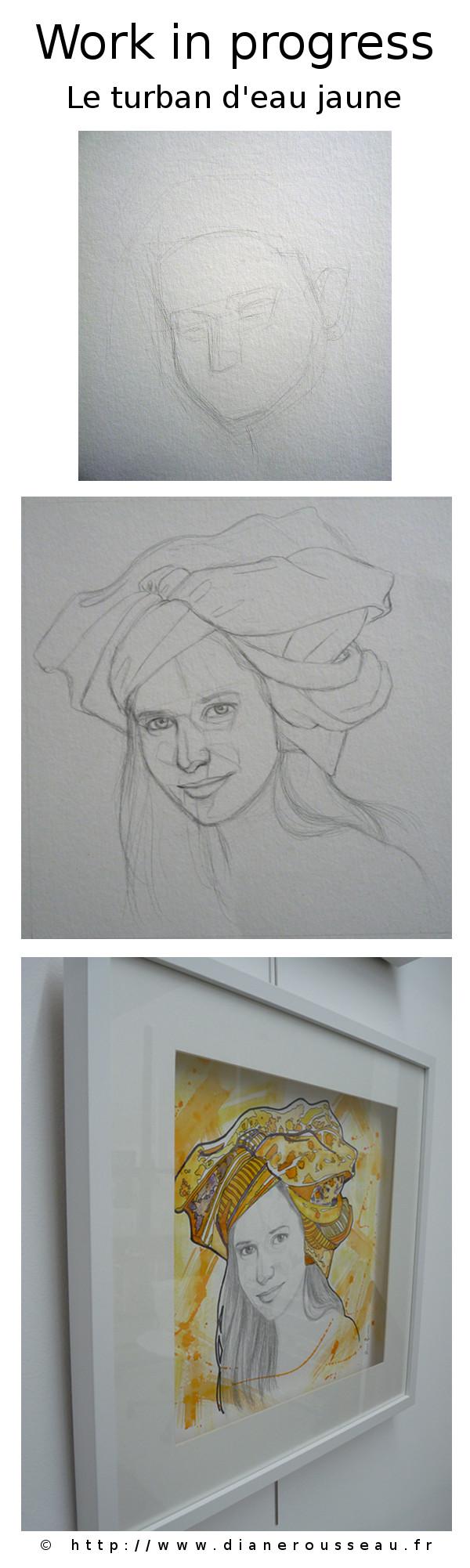 Le turban d'eau jaune, Diane Rousseau