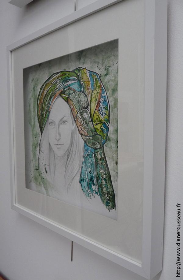 Le turban d'eau vert (encadré), Diane Rousseau